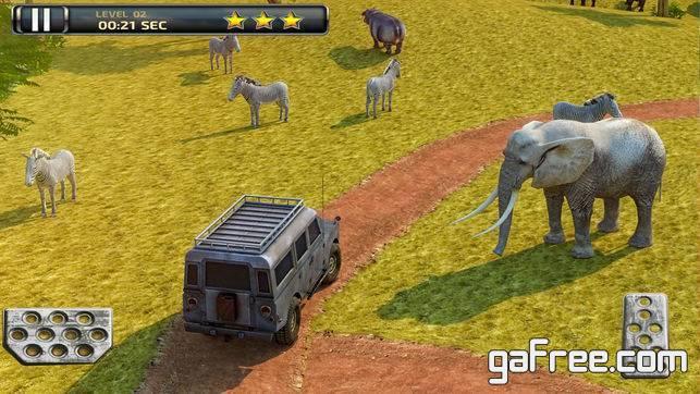 تحميل لعبة سفاري للايفون 3D Safari Parking Free