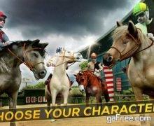 تحميل لعبة الفروسية للايفون Frenzy Horse Racing Free