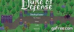 تحميل لعبة ابراج الدفاع للكمبيوتر مجانا Duke of Defense