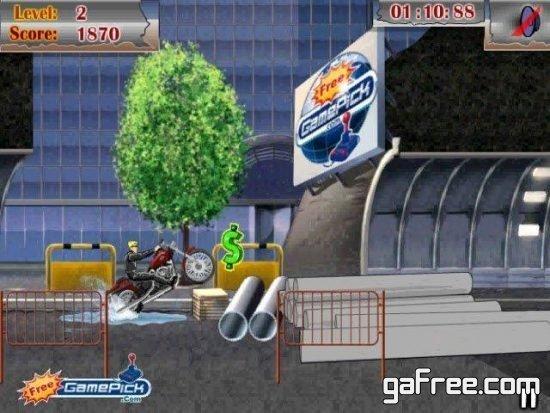 تحميل لعبة موتسكلات خفيفة Cycle Commando