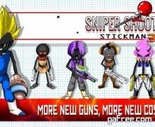 تحميل لعبة حرب ستيك مان للاندرويد Sniper Shooter Stickman 2 Fury