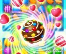 تنزيل لعبة الحلويات المشتابهة الجديدة للاندرويد Candy Fever