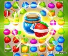لعبة الفواكه الجديدة مجانا للاندرويد Fruits Burst Mania