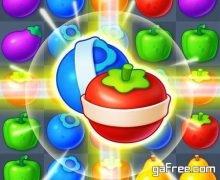 تحميل لعبة الفواكه المتشابهة الجديدة للاندرويد Fruit Candy Bomb