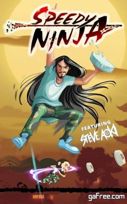تحميل لعبة النينجا المقاتل للاندرويد Speedy Ninja