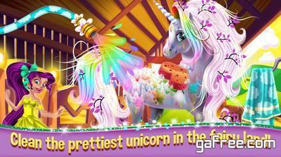 تحميل لعبة مزرعة الخيول My Magic Horse Farm Salon Spa