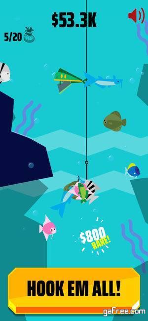 تحميل لعبة صيد السمك للايفون Go Fish
