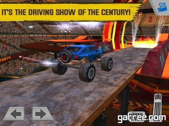 تحميل لعبة الشاحنة الوحش للايفون Monster Truck Arena