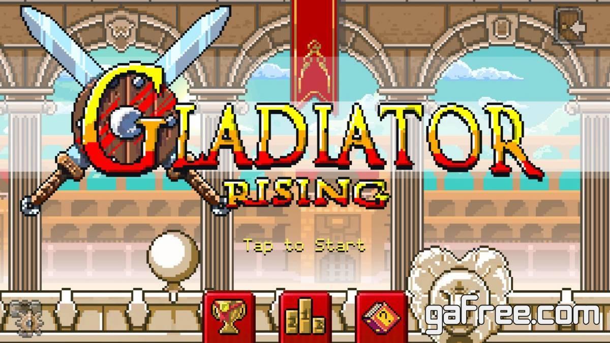 تحميل لعبة قتال الاوغاد للاندرويد Gladiator Rising Roguelike RPG