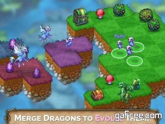 تحميل لعبة التنانين للايفون الجديد Merge Dragons