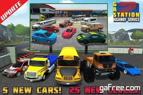 تحميل لعبة قيادة وركن السيارات Gas Station 2