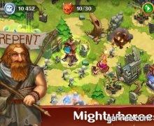 تحميل لعبة برج الدفاع الجديدة للاندرويد Holy TD: Epic Tower Defense