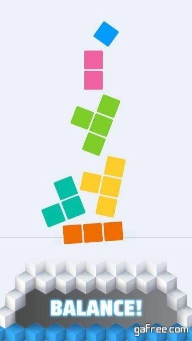تحميل لعبة البناء للايفون Paint Tower