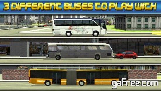 تحميل لعبة ركن الحافلات الجديدة للايفون 3D Bus Driver Simulator Car Parking