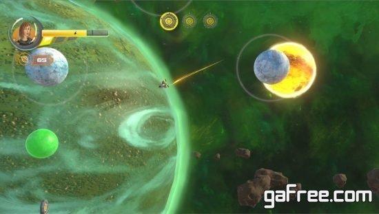 تحميل العاب حرب طائرات فضائية Orbit Quest