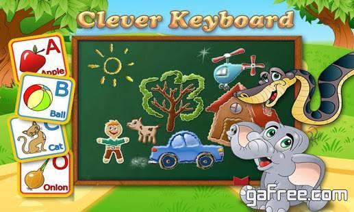 تحميل لعبة تعليم الكتابة للايفون Clever Keyboard