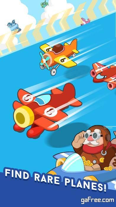 تحميل لعبة الطائرات المصغرة للايفون Merge Plane
