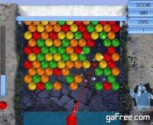 تحميل لعبة الفقاعات الملونة الجديدة مجانا Aqua Bubble