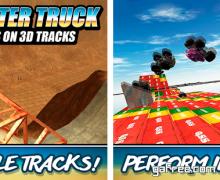 تحميل لعبة القيادة الشاحنات الوحش Monster Truck Stunt 3D