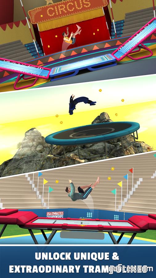 تحميل لعبة رياضة القفز للايفون Flip Master