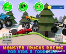تحميل لعبة سباق الشاحنات للاطفال Monster Truck Game for Kids