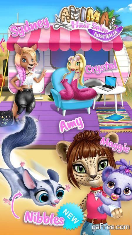 تحميل لعبة صالون الحيوانات Animal Hair Salon Australia