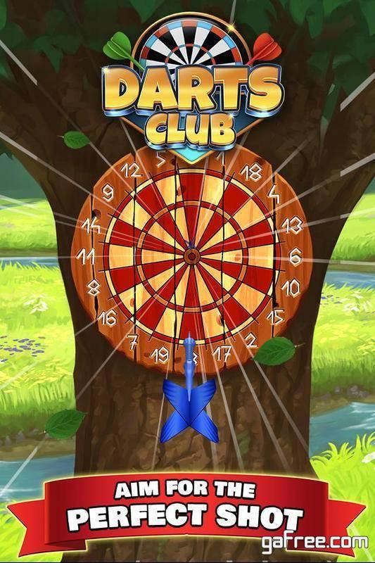 تحميل لعبة رمي السهام للاندرويد Darts Club