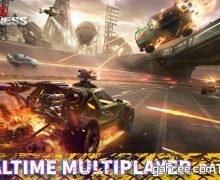 تحميل لعبة السيارات المقاتلة للاندرويد Metal Madness PvP Shooter