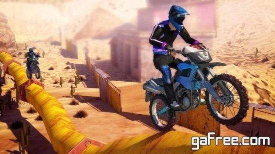 تحميل لعبة الدراجات النارية للاندرويد Real Bike Stuntsتحميل لعبة الدراجات النارية للاندرويد Real Bike Stunts