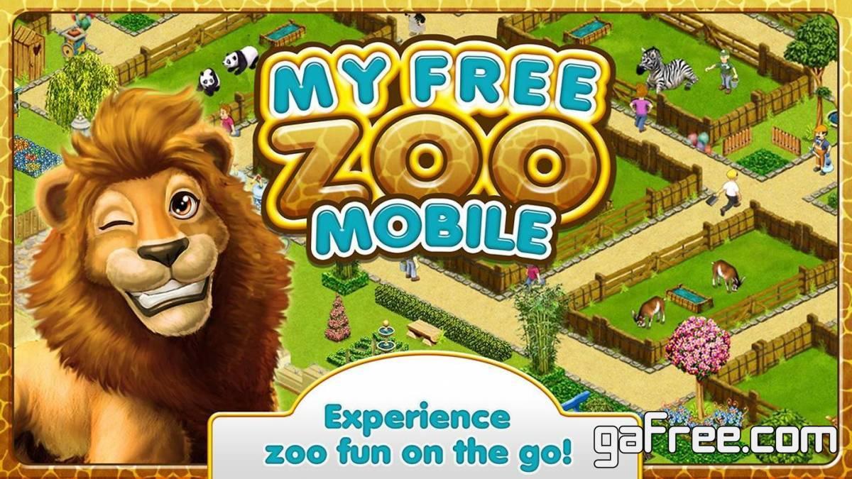 تحميل لعبة حديقة الحيوان للاندرويد MyFreeZoo Mobile