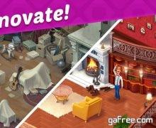 تحميل لعبة بناء المنزل Homescapes
