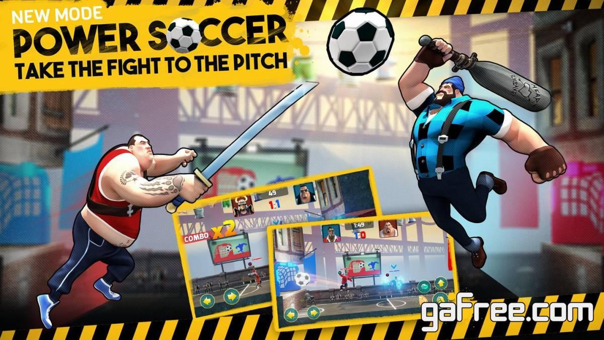تحميل لعبة كرة القدم القتالية Mayhem Combat