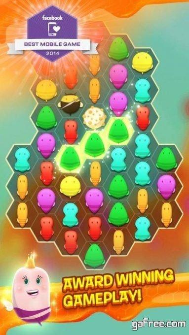 تحميل لعبة مسلية للاندرويد Disco Bees