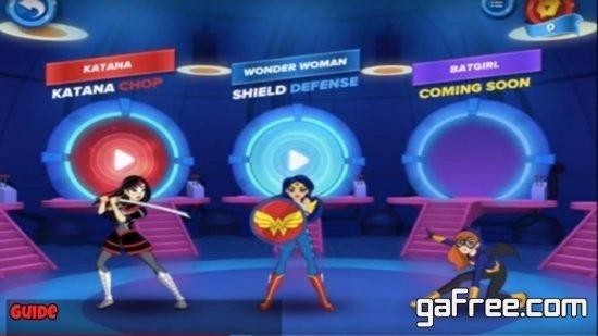تحميل لعبة ثانوية سوبر غيرلز DC Super Hero Girls