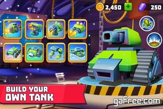 تحميل لعبة قتال الجماعية للاندرويد Tanks A Lot