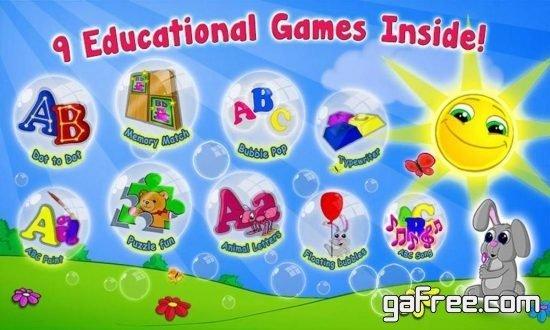 تحميل لعبة تعليم الحروف والارقام الانجليزية للاطفال ABC Song