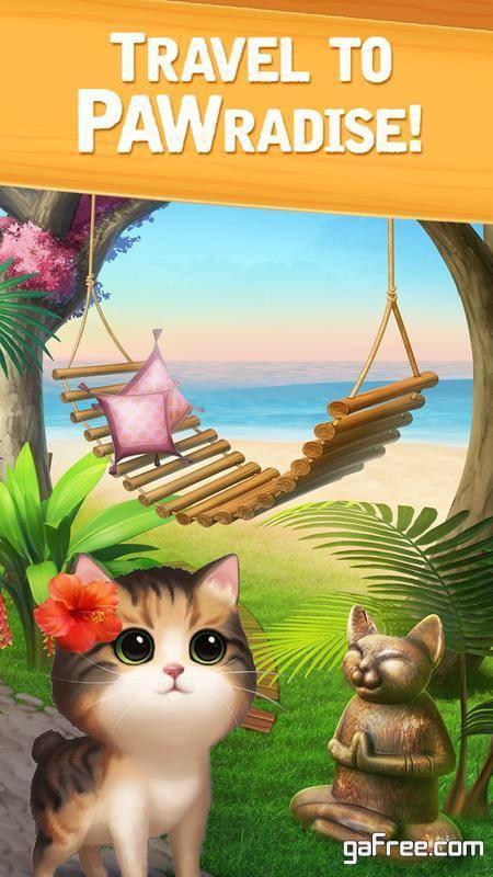تحميل لعبة القطة للاندرويد Meow Match