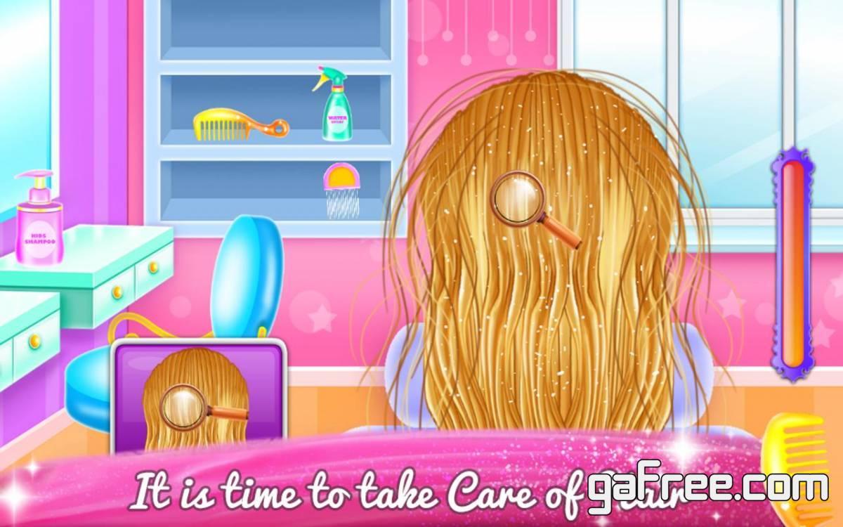 تحميل لعبة الاميرة الصغيرة Little Bella Braided Hair Salon