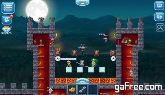 تحميل لعبة عالم البكسيلات Pixel Worlds