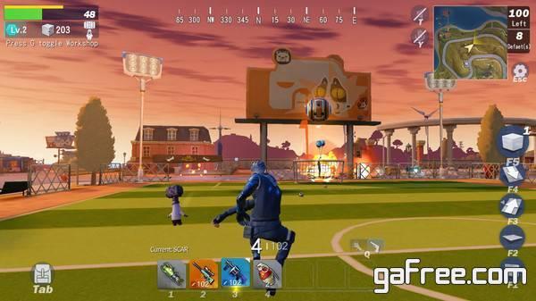 تحميل لعبة القتال للبقاء حياً باتل رويال Creative Destruction