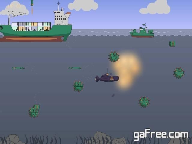 تحميل لعبة حرب السفن والغواصات Deep Water Pirate