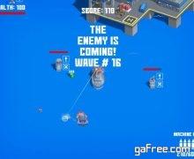تحميل لعبة حرب للكمبيوتر بحجم صغير جدا Ships Of War