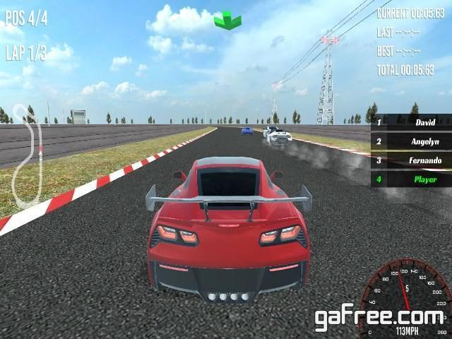 تحميل لعبة سباق السيارات للكمبيوتر برابط واحد مباشر Speed Racer 2
