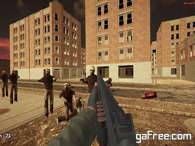 تحميل لعبة مدينة الزومبي Zombie In The City