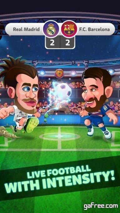 تحميل لعبة الدوري الاسباني للاندرويد Head Soccer La Liga 2019