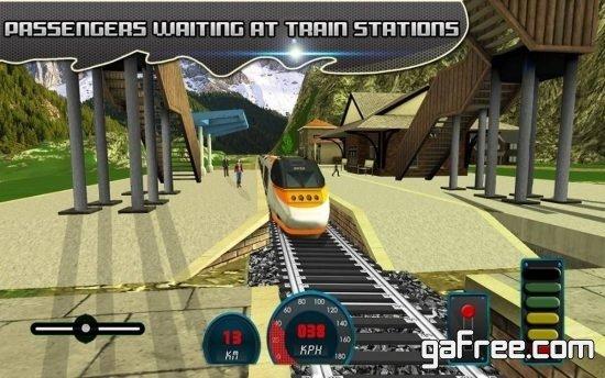 تحميل لعبة محاكاة قيادة القطارات للاندرويد Sydney Train Simulator 17