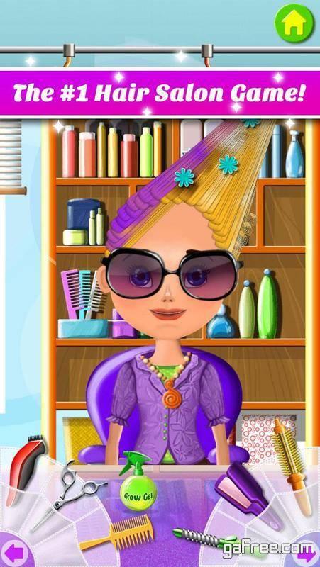 تحميل لعبة صالون بنات للاندرويد Hair Salon Makeover