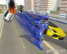 تحميل لعبة البطل الخارق Super Light Speed Robot