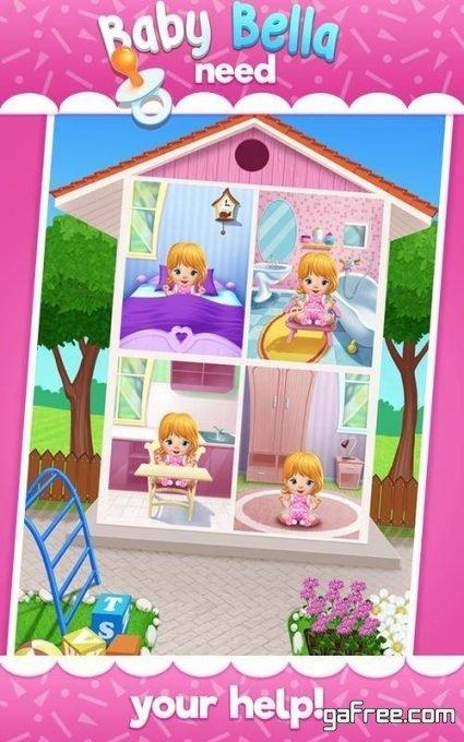تحميل لعبه رعاية اطفال للاندرويد Baby Bella Caring