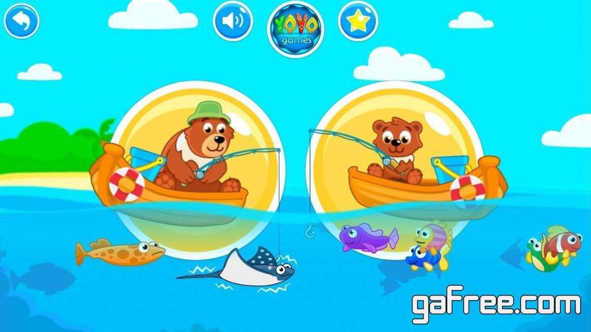 تحميل العاب اطفال للاندرويد مجانا لعبة Fishing